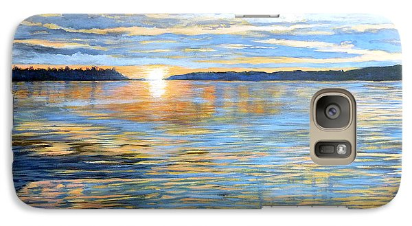 Galaxy Case featuring the painting Davidson Quebec by Tom Roderick