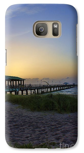 Galaxy Case featuring the photograph Dawn Is The Time by Anne Rodkin