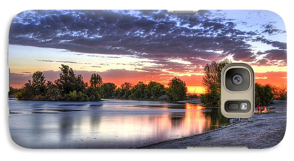 Galaxy Case featuring the photograph Day At The Lake by Marta Cavazos-Hernandez