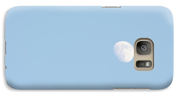 Galaxy Case featuring the photograph Daylight Moon by Michael Waters