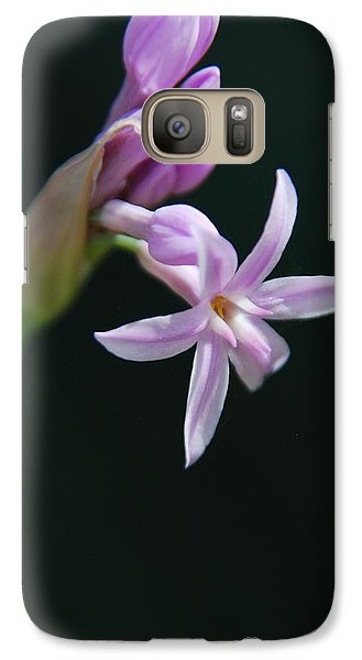 Galaxy Case featuring the photograph Flowering Bud by Tam Ryan