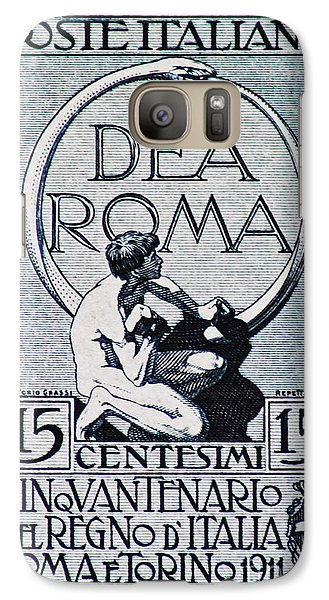 Galaxy Case featuring the photograph Dea Roma by Andy Prendy