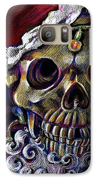 Galaxy Case featuring the drawing Dead Christmas by Nada Meeks