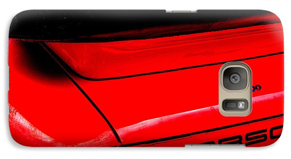 Galaxy Case featuring the photograph Dead Red Turbo by John Schneider