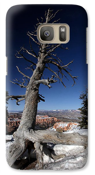 Galaxy Case featuring the photograph Dead Tree Over Bryce Canyon by Karen Lee Ensley