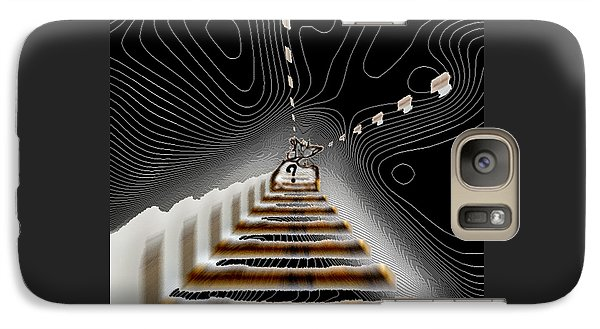Galaxy Case featuring the digital art Decisions No. 3 by Paula Ayers