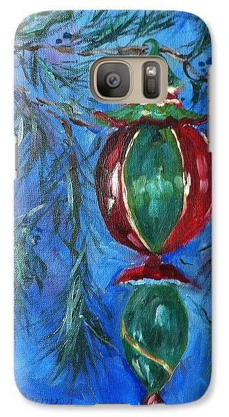 Galaxy Case featuring the painting Deck The Halls by Carol Berning