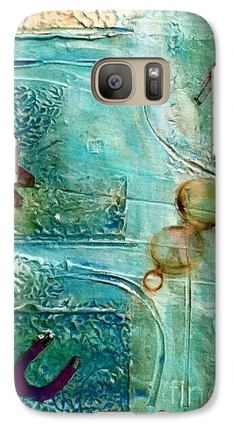 Galaxy Case featuring the painting Declination by D Renee Wilson