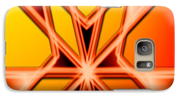 Galaxy Case featuring the digital art Deep Thought by George Pedro