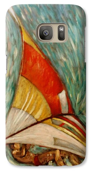 Galaxy Case featuring the painting Defying Gravity by Charles Munn