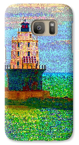 Galaxy Case featuring the photograph Delight House by Clara Sue Beym