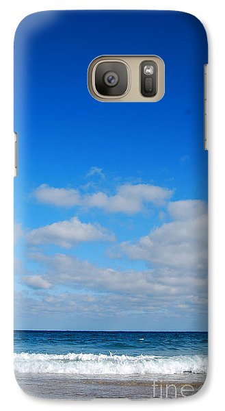 Galaxy Case featuring the photograph Delray Sea And Sky by Linda Mesibov