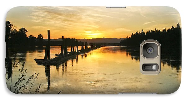 Galaxy Case featuring the photograph Delta Sunset by Albert Seger