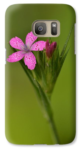 Galaxy Case featuring the photograph Deptford Pink by JD Grimes