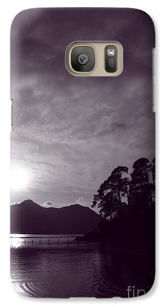 Galaxy Case featuring the photograph Derwent Ripples by Linsey Williams