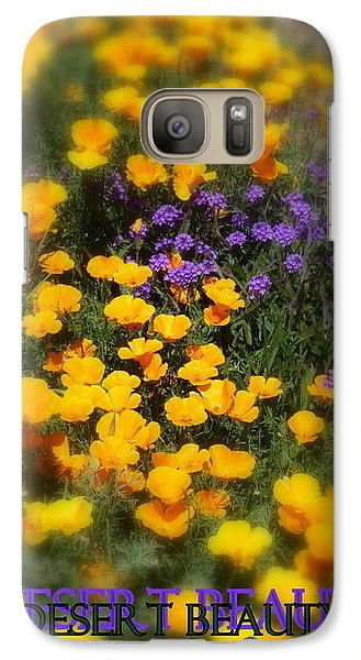 Galaxy Case featuring the photograph Desert Beauty by Carla Parris