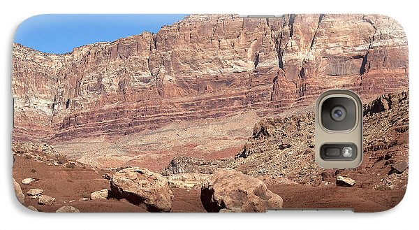 Galaxy Case featuring the photograph Desert Colors by Bob and Nancy Kendrick
