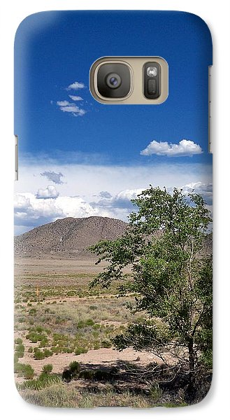 Galaxy Case featuring the photograph Desert In New Mexico by Rick Frost