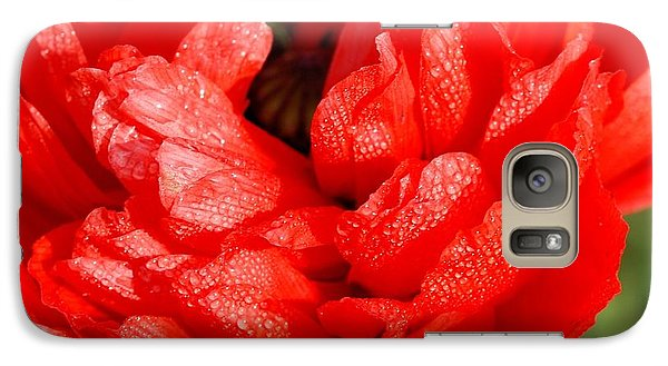 Galaxy Case featuring the photograph Dewdrops by Fotosas Photography