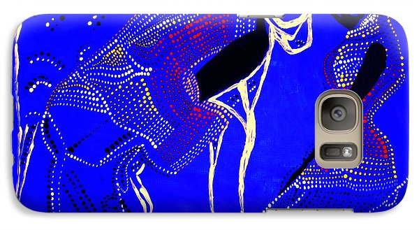 Galaxy Case featuring the painting Dinka Marriage by Gloria Ssali