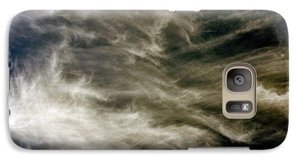 Galaxy Case featuring the photograph Dirty Clouds by Clayton Bruster