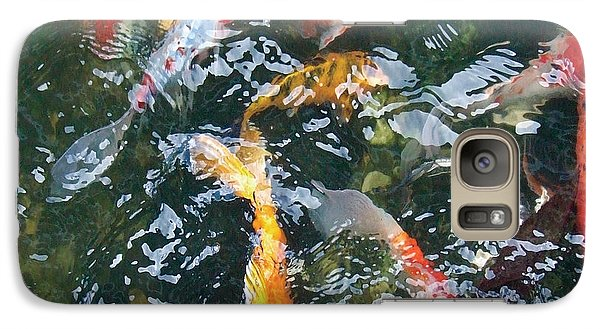 Galaxy Case featuring the photograph Distortion by Dan Menta