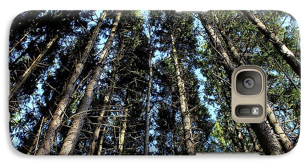 Galaxy Case featuring the photograph Dizzy In The Pines by Rachel Cohen