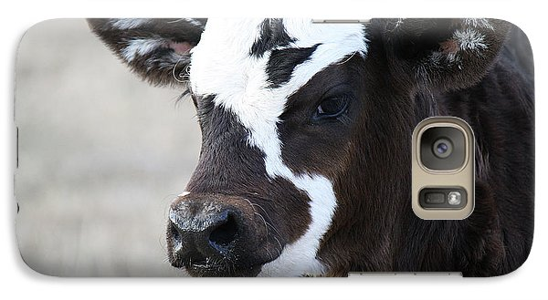 Galaxy Case featuring the photograph Do You Like My Bow by Roena King