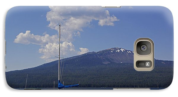 Galaxy Case featuring the photograph Docks At Diamond Lake by Mick Anderson