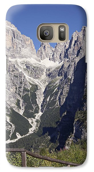 Galaxy Case featuring the photograph Dolomiti Di Brenta by Raffaella Lunelli