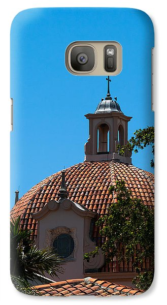 Galaxy Case featuring the photograph Dome At Church Of The Little Flower by Ed Gleichman