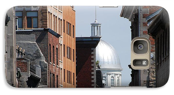 Galaxy Case featuring the photograph Dome Bonsecours Market by John Schneider