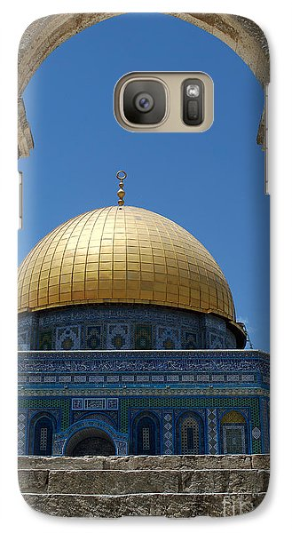 Galaxy Case featuring the photograph Dome Of The Rock  by Eva Kaufman