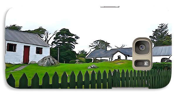 Galaxy Case featuring the photograph Donegal Home by Charlie and Norma Brock