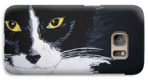 Galaxy Case featuring the painting Don't Bug Me by Norm Starks