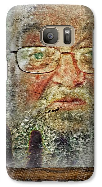 Galaxy Case featuring the digital art Don't You See Me?  I'm Here. .  by Rhonda Strickland