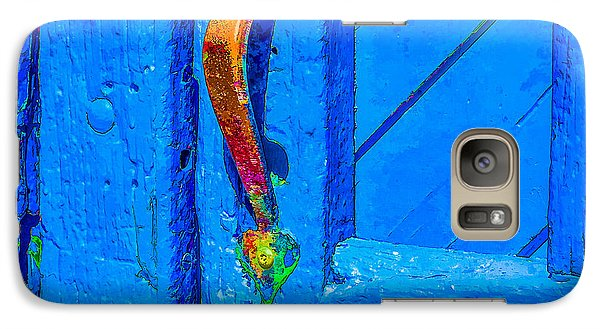 Galaxy Case featuring the photograph Doorway To Santa Fe by Ken Stanback