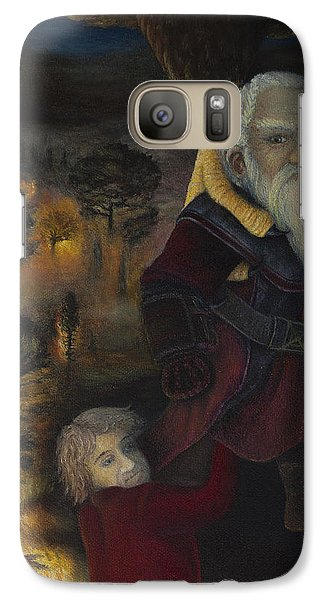 Galaxy Case featuring the painting Dori  by Joshua Martin