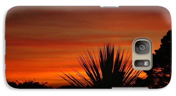 Galaxy Case featuring the photograph Dorset Sunset by Katy Mei
