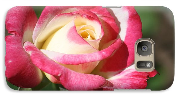 Galaxy Case featuring the photograph Double Delight Rose by Donna G Smith