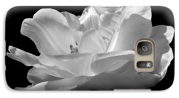 Galaxy Case featuring the photograph Double Late Angelique Tulip by Darleen Stry