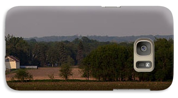 Galaxy Case featuring the photograph Down On The Farm by John Crothers