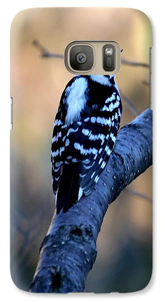 Galaxy Case featuring the photograph Downy Woodpecker by Elizabeth Winter