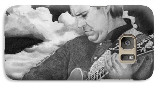 Galaxy Case featuring the drawing Doyle Dykes by Ana Tirolese