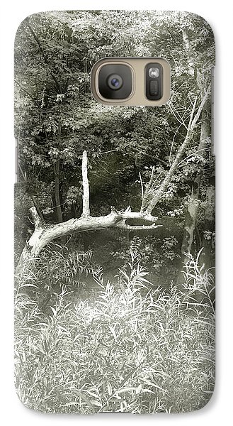 Galaxy Case featuring the photograph Dragon Bones by Mary Almond