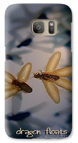Galaxy Case featuring the photograph Dragon Floats by Vicki Ferrari