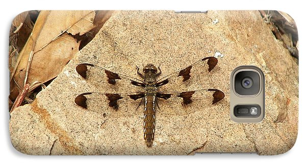 Galaxy Case featuring the photograph Dragonfly At Rest by Deniece Platt