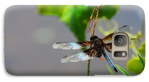 Galaxy Case featuring the photograph Dragonfly by Cindy Manero