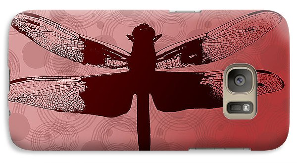 Galaxy Case featuring the photograph Dragonfly by Lauren Radke