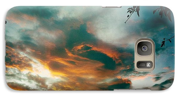 Galaxy Case featuring the photograph Drama In The Sky by Nina Prommer